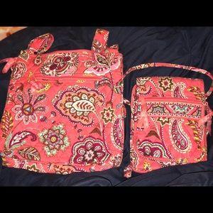 BUNDLE: 2 Vera Bradley Crossbody bags